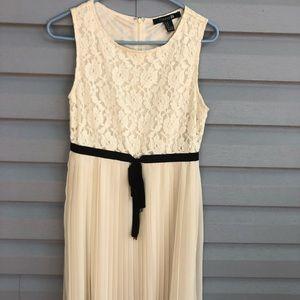 Cream colored dress